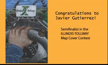 Tollway Illinois Map.Illinois Tollway S 2016 Map Cover Art Contest Semifinals Reavis